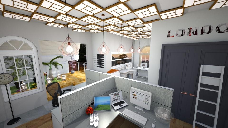 cuarto de trabajo - Modern - Office - by juan jose ramirez