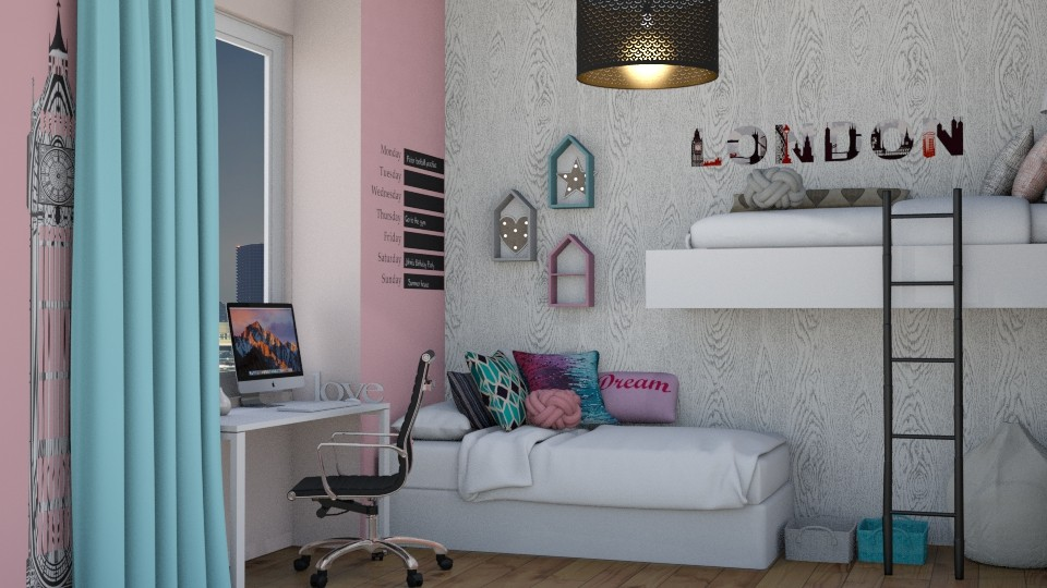 reMode_meggle - Bedroom - by RaeCam