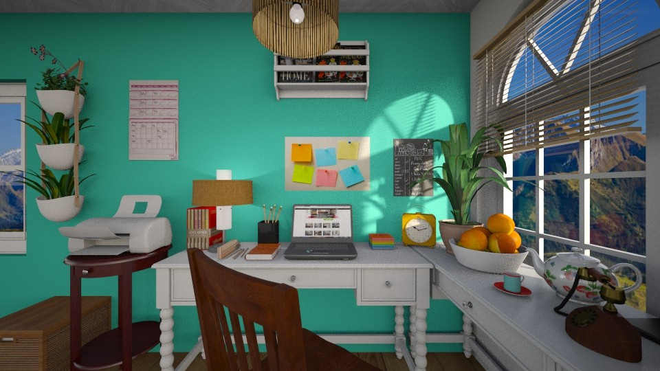 Home office - by Vanessa_D