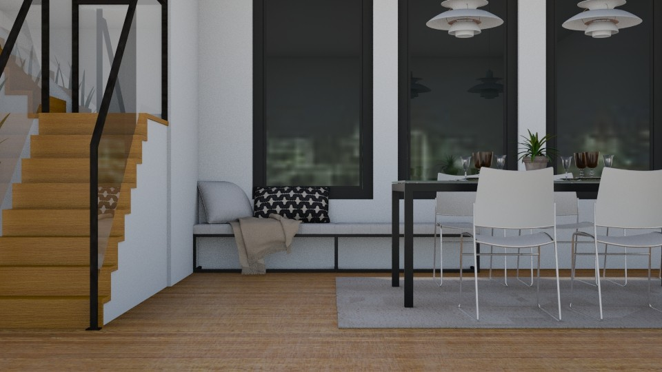 Fashionable Dining - Modern - Dining room - by stephendesign