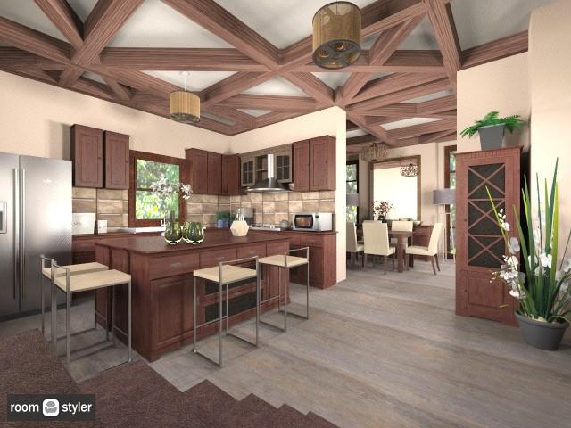 Irene kitchen - by KittiFarkas