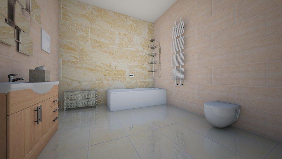 Badkamer huis 1 vloer - Bathroom - by danielle91