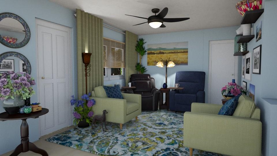 Sm LivingRm Challenge - Living room - by SherryDW