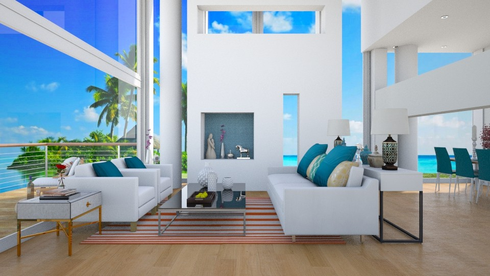 Modern Beach House  - by jade61356
