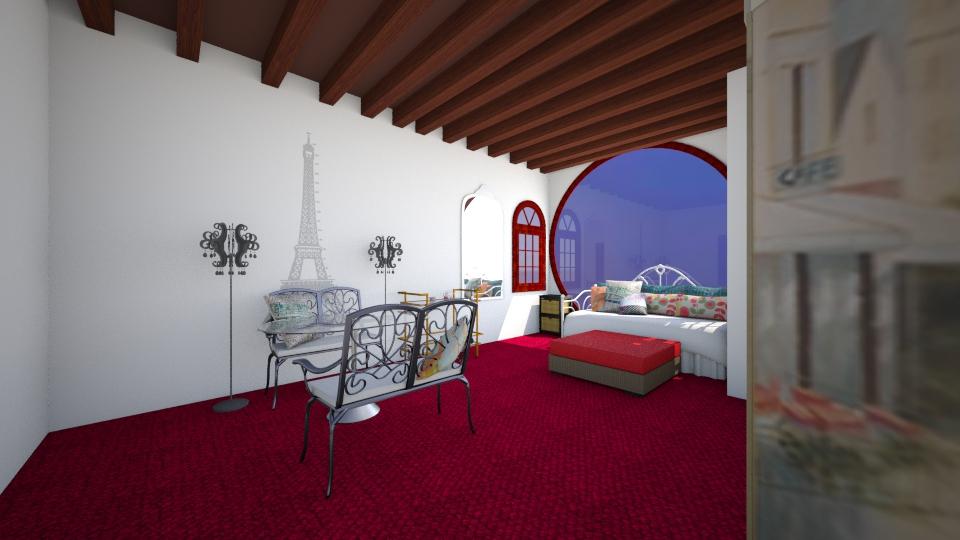 paris aparment - Bedroom - by jcflynn