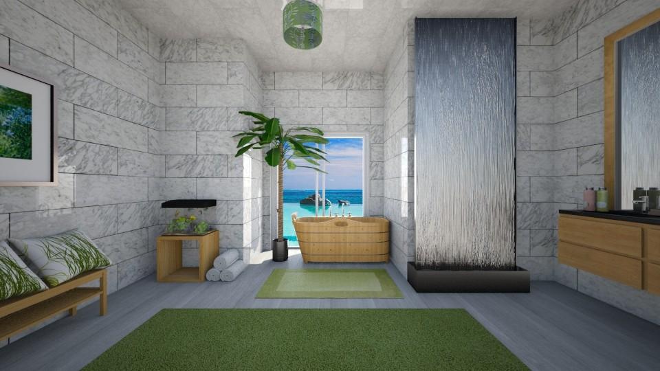 my bathroom - Bathroom - by sirtsu