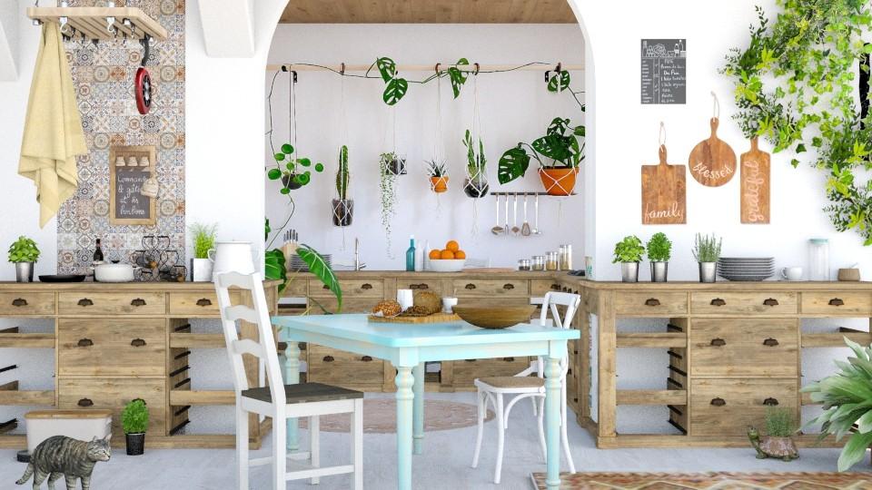 Bohemian - Kitchen - by ArtHousedeco