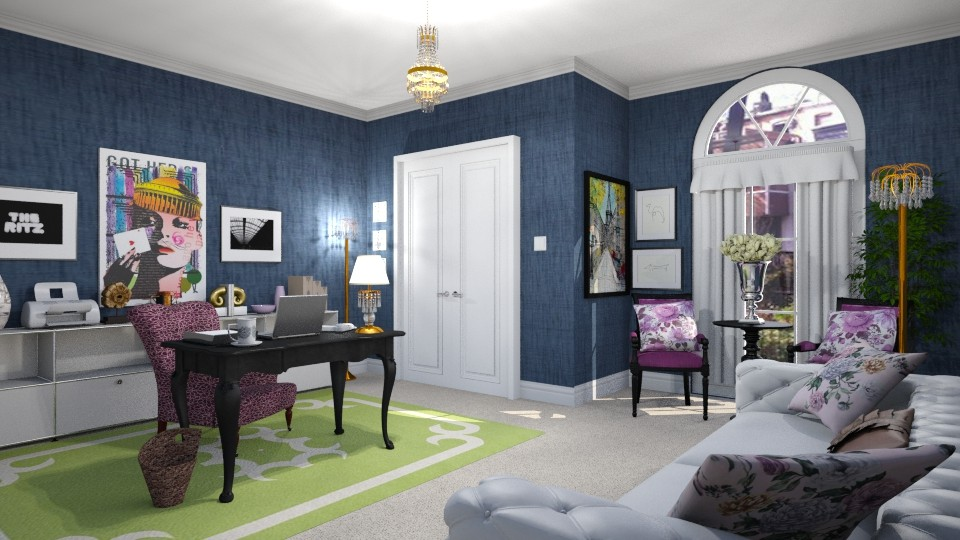 Her Office Baltimore - Feminine - Office - by LadyVegas08