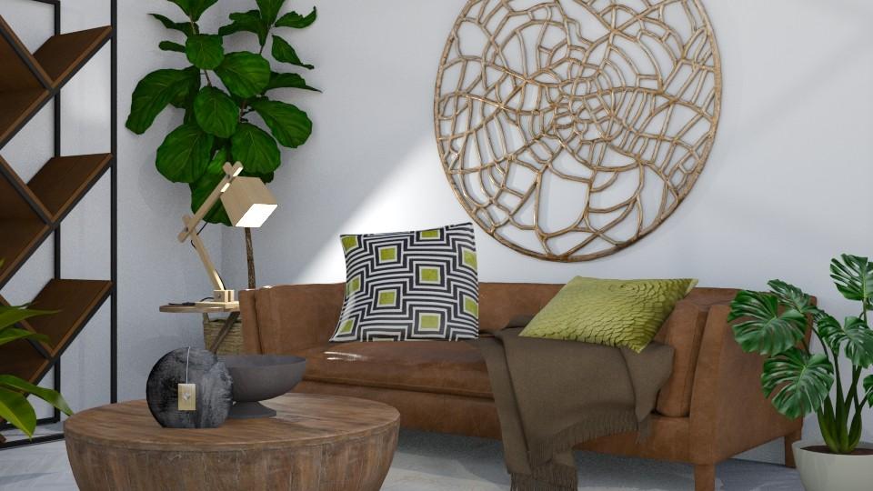 Urban J - Living room - by KimAlys