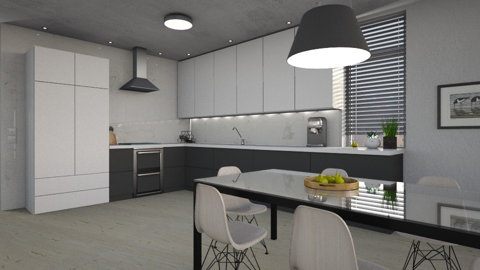 I - Modern - Kitchen - by evahassing