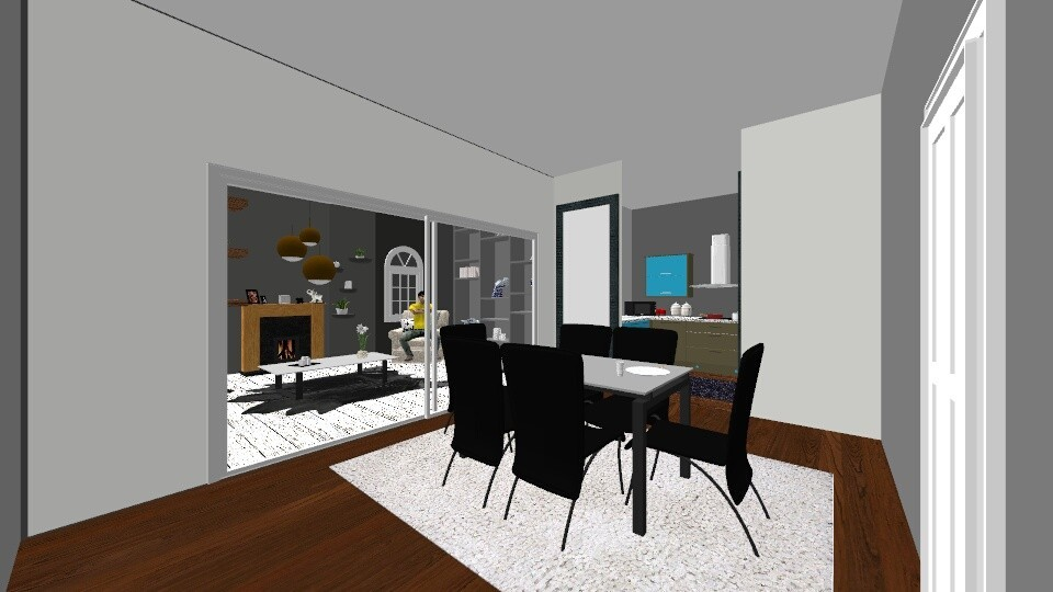 living room - Modern - by crunchykitty1