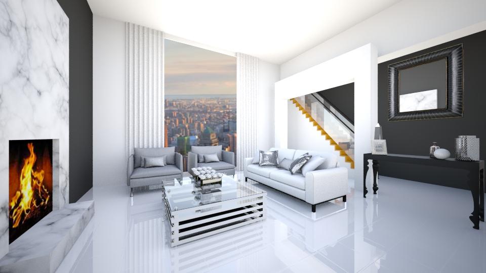 Central Park Loft  - Living room - by jessicabaucke