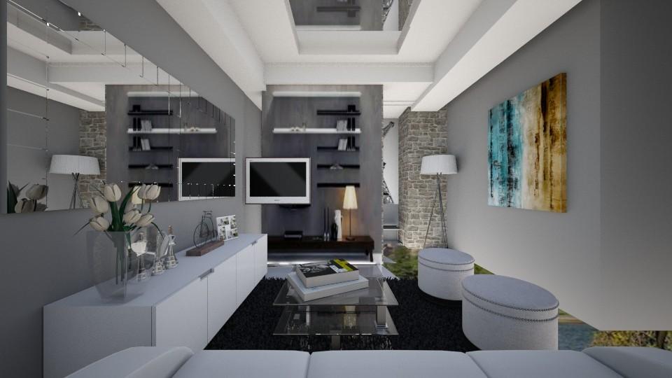 k6newmirror - Living room - by kc jones