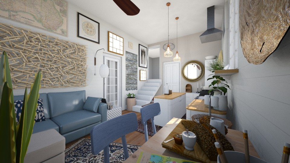 Tiny Style House - Living room - by reedj0218