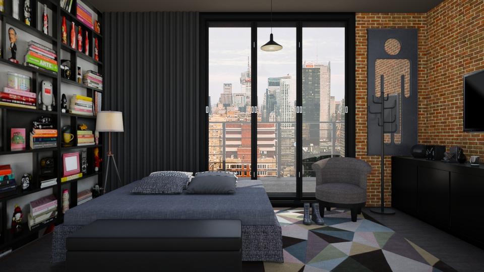Quarto Urban - Global - Bedroom - by Mayara Pedreira