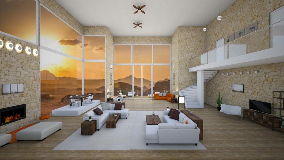 Desert home - by Timea Fischer