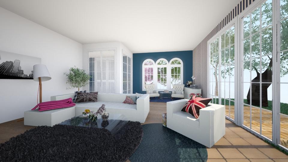 Living room - Retro - Living room - by Petracelic