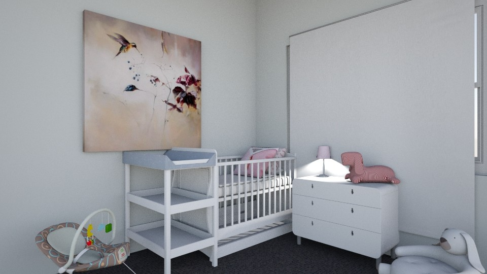 Baby Girls Room - by Paris Lidgard