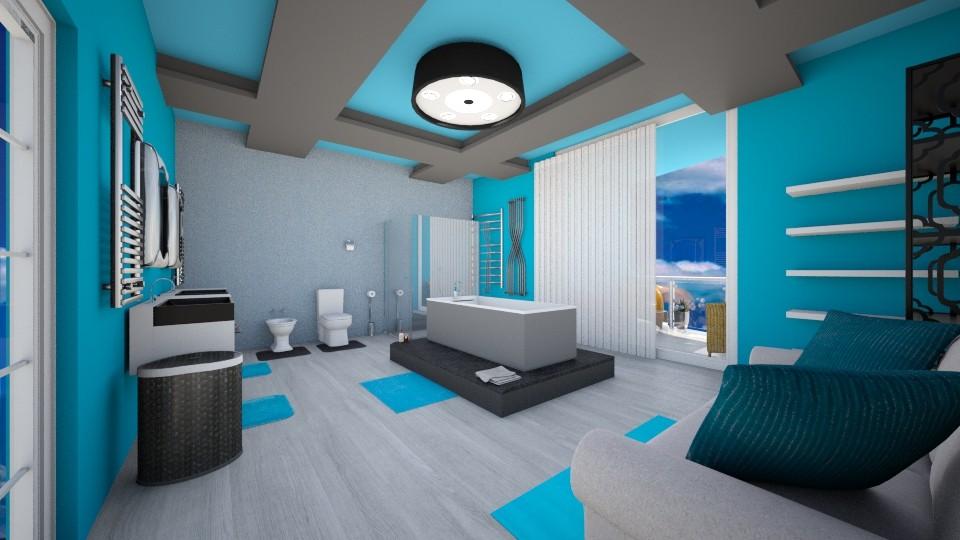 living room - Modern - Bathroom - by louahdi abir