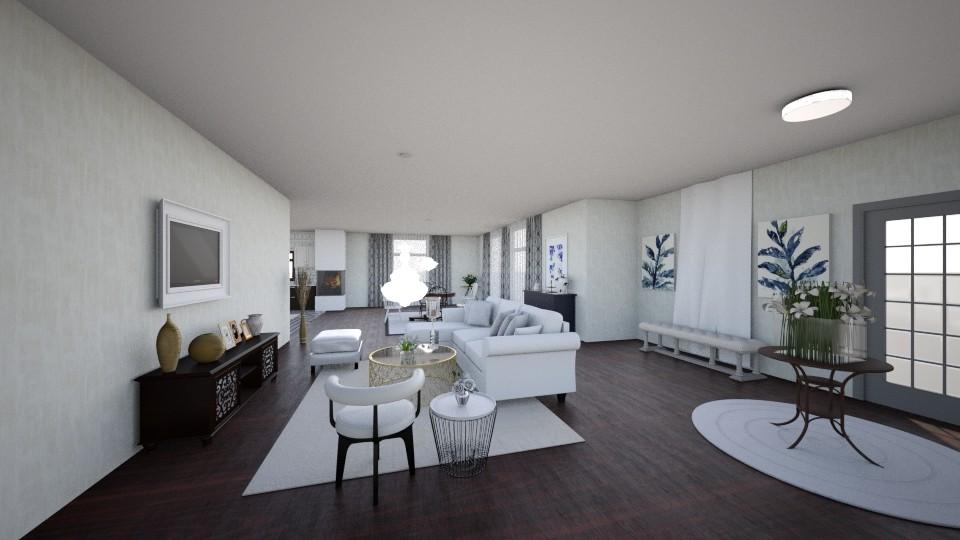 Bright - Minimal - Dining room - by tena9