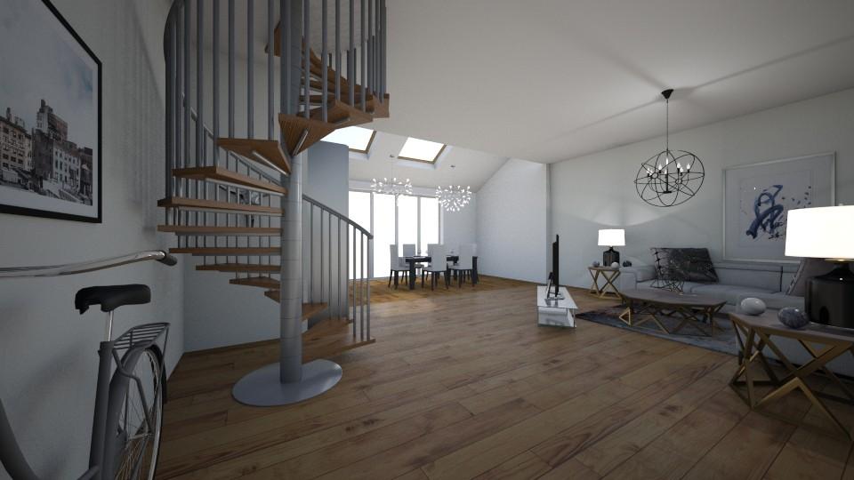new york - Living room - by emmakatherinee