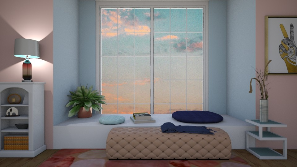 Moment of peace  - Living room - by Ana Angela