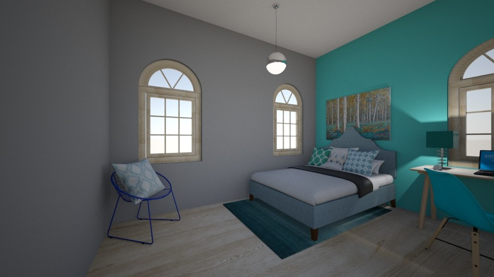 zaryah - Modern - Bedroom - by zaryah