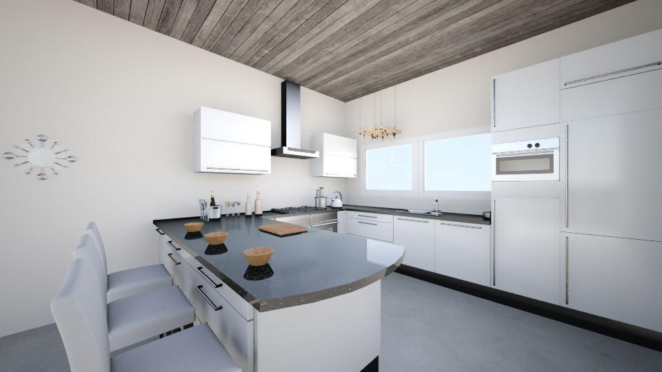 Modern Kitchen - Kitchen - by Maria Sykes
