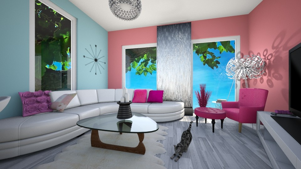 PinkPower - Living room - by oldzi92