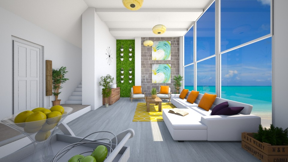 Solstice - Living room - by architect_09