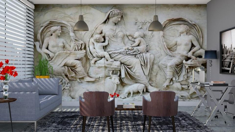 Escultura em parede - Office - by Alecio