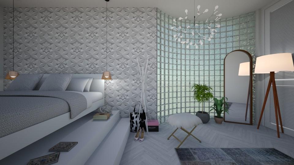 room 1 - Glamour - Bedroom - by zrinkaroso