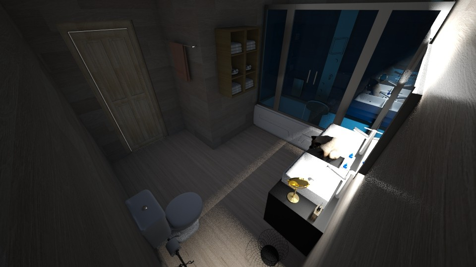 Bathroom - Modern - Bathroom - by saltyfries27