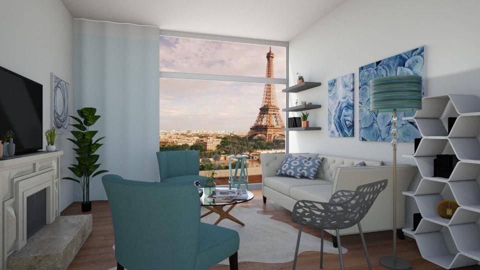 Paris - Living room - by Noa Sardoz