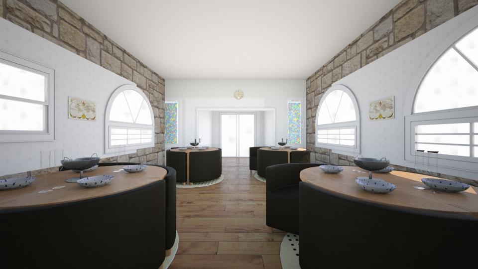 resturant villa - Dining room - by LuanaSoaresDesigns