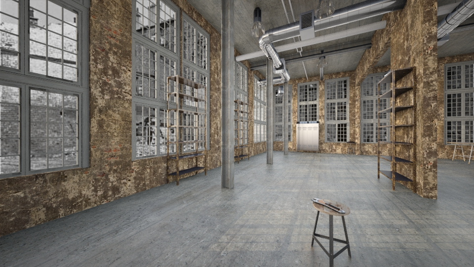 AbandonedFactoryWarehouse - by Interiors by Laura