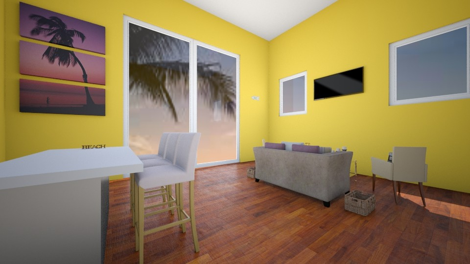 Beach House - Modern - Living room - by VibrantSplash