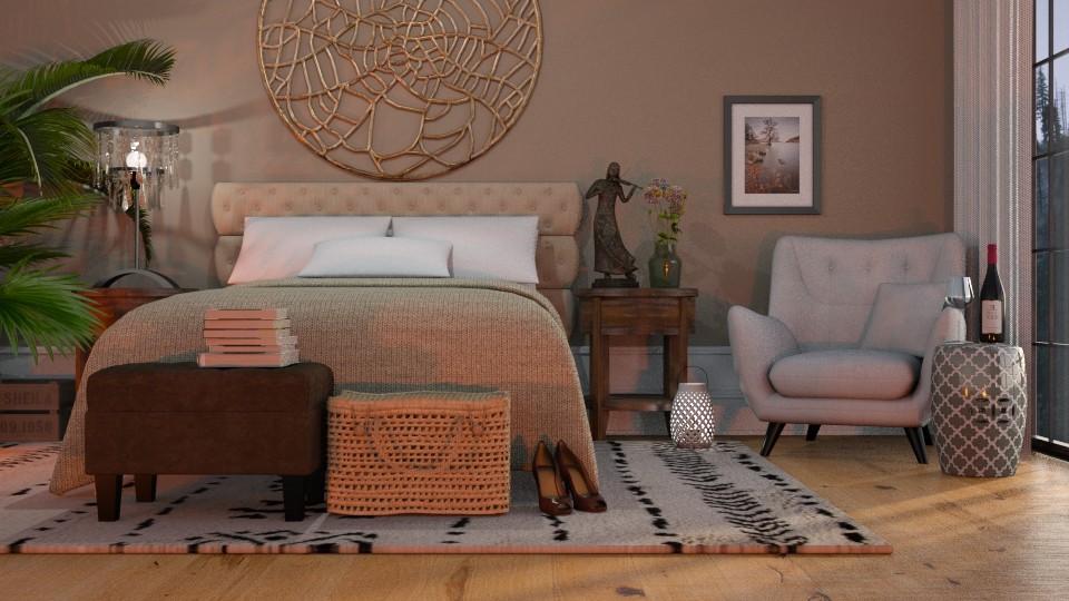 simple - Bedroom - by Just Bee