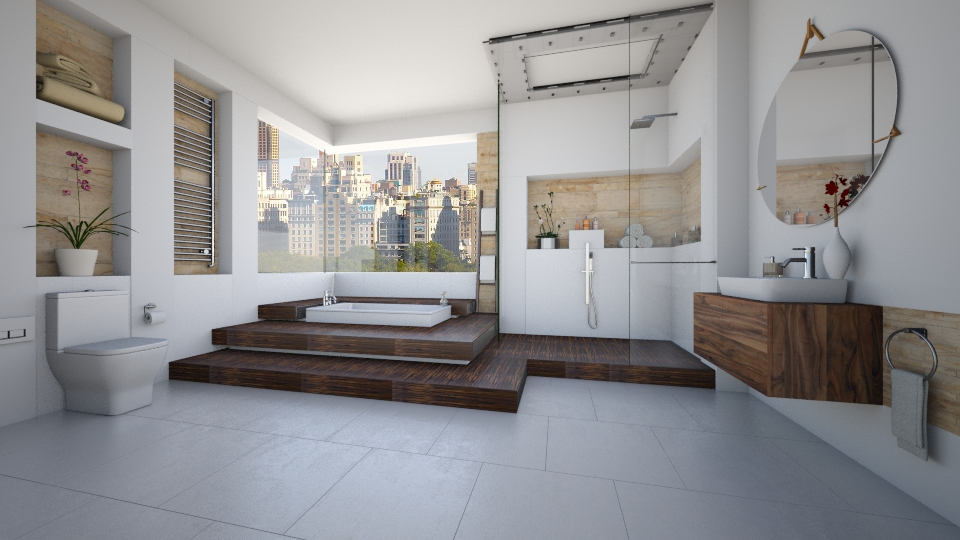 Virtual bathroom modern bathroom by maja97 for Interactive bathroom