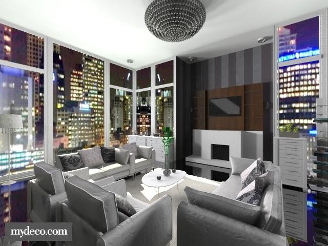 Living Room 03 - by Thika