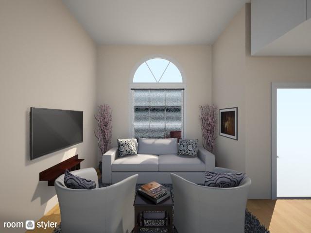 room v2 - Living room - by helenlin06