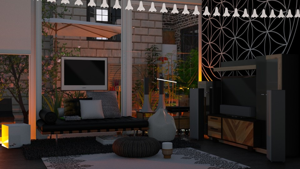 Mandala - Living room - by RedPandaRooms