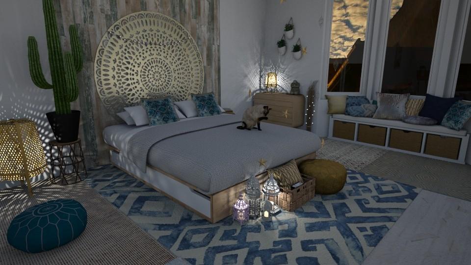 Arabic influences - Kids room - by StudioGerot