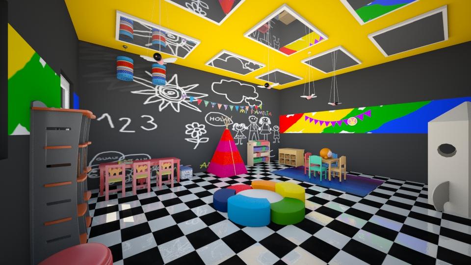 play room - by sorangeld