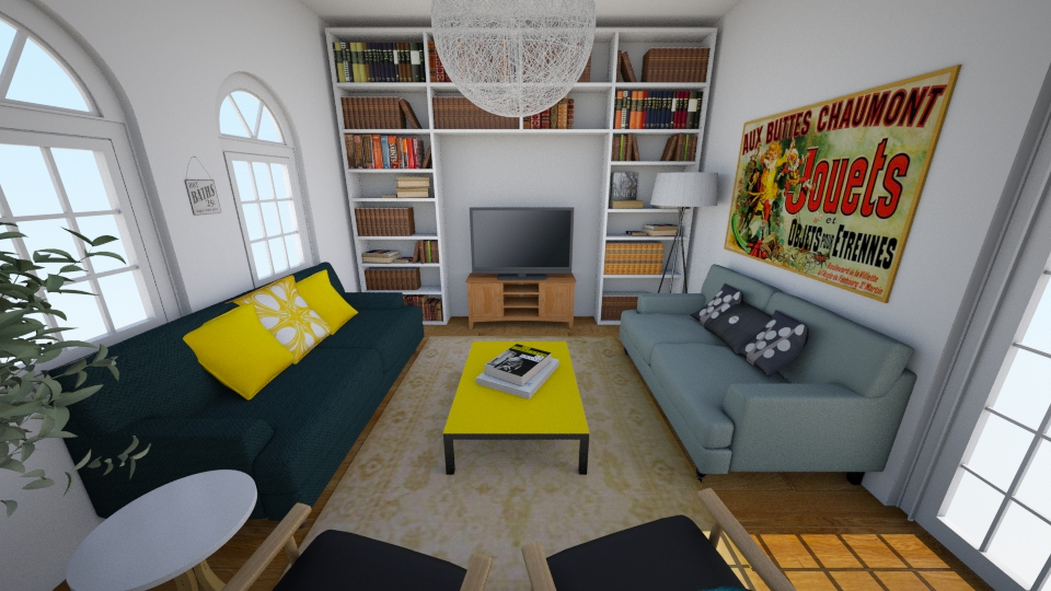 25 New Cross Road - Living room - by rachelbbridge