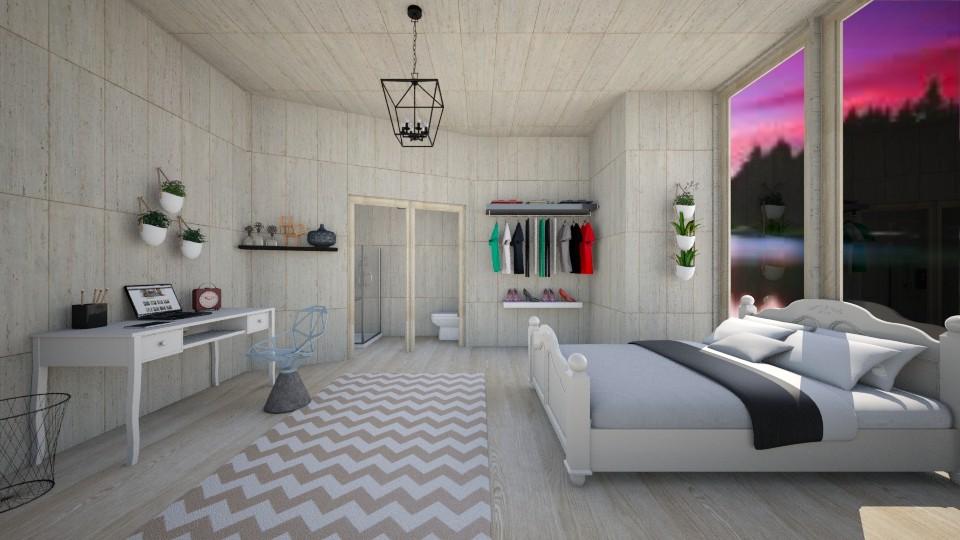 master bedroom - Rustic - Bedroom - by Maddie Freeman