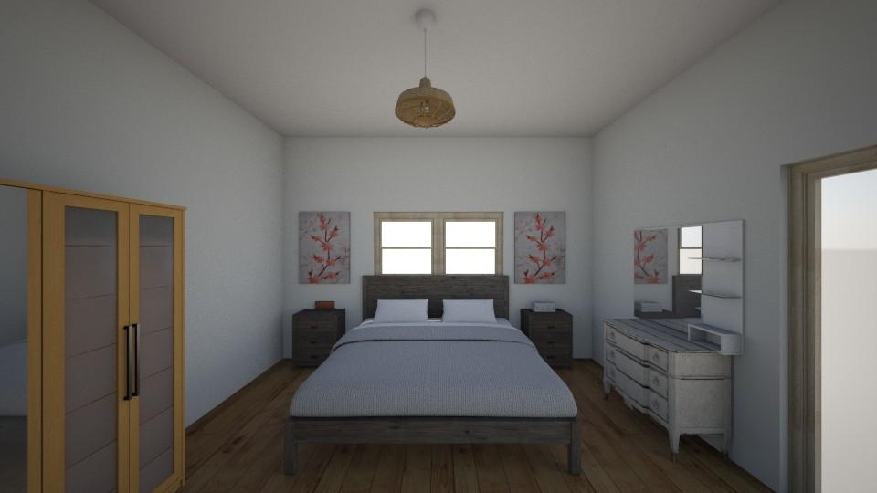 Master sweet bedroom - Retro - Bedroom - by Emiliempje1