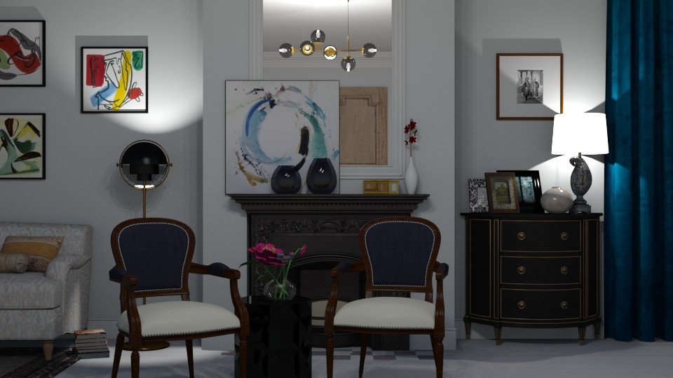 Living room - Glamour - Living room - by Annathea
