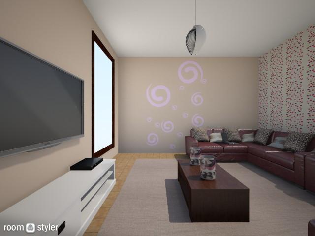 liiving  - Living room - by EsRaa Mohamed