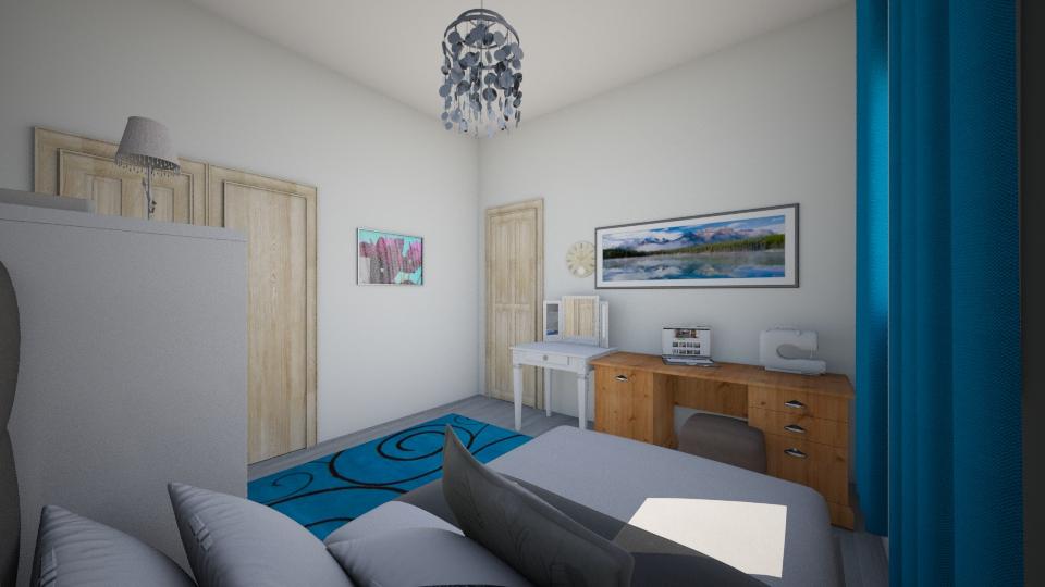 london bedroom - Modern - Bedroom - by LuanaSoaresDesigns